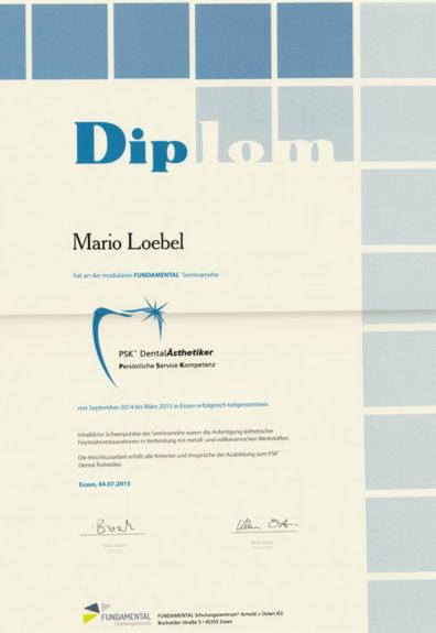Diplom Loebel