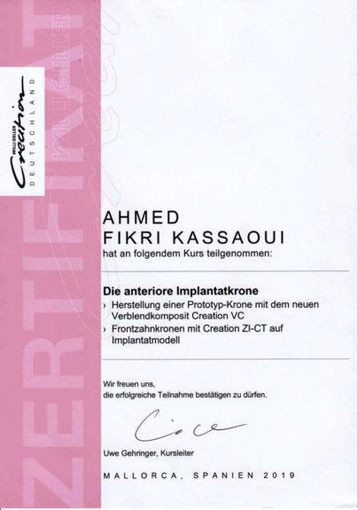 Zertifikat-Kassaoui